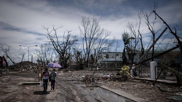 """""""Todos seremos víctimas de Haiyan si ignoramos el cambio climático"""""""