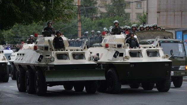 China: Demostración de poderío militar en escenario de sangrientos enfrentamientos