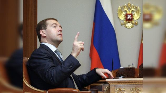 Dmitri Medvédev satisfecho con los preparativos para Sochi 2014