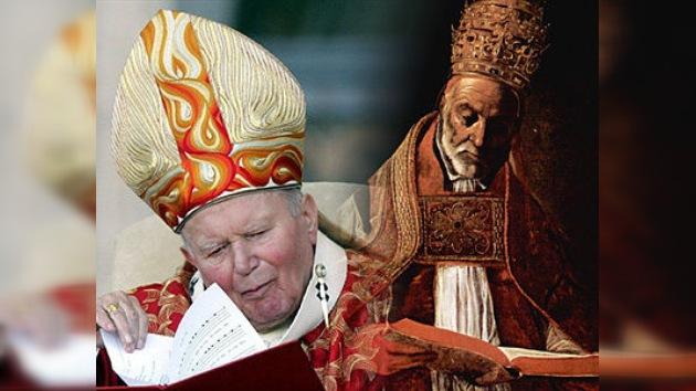 Los papas canonizados y beatificados por la Iglesia católica