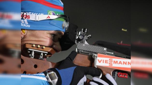 Záitseva conquista el segundo oro para Rusia en la Copa del Mundo de biatlón