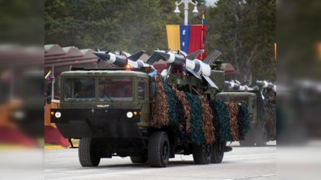 Chávez anuncia el fortalecimiento del sistema de defensa de Venezuela