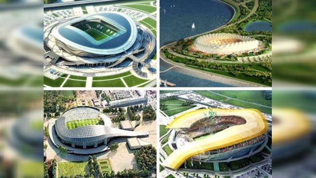 Ciudades y estadios de la Copa del Mundo Rusia 2018