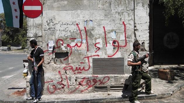 El Ejército sirio expulsa a los insurgentes de Alepo