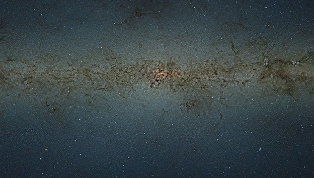 En el núcleo de la Vía Láctea hay más de 80 millones de estrellas