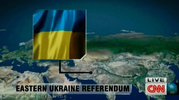 La CNN sitúa a Ucrania en el mapa en Pakistán