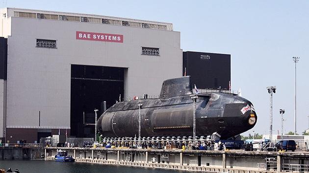 El Reino Unido podría quedarse sin astilleros militares propios