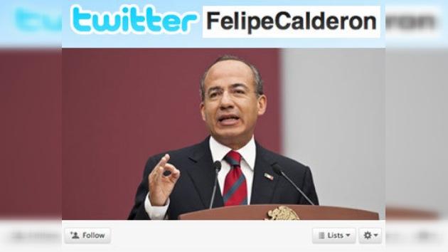 Felipe Calderón cambia el nombre de su cuenta en Twitter