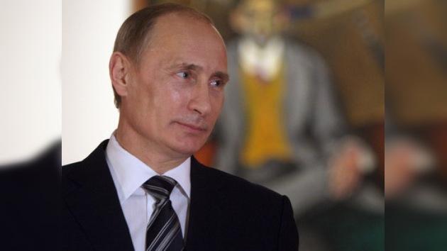 Putin visitó la exposición de uno de los fundadores del vanguardismo ruso