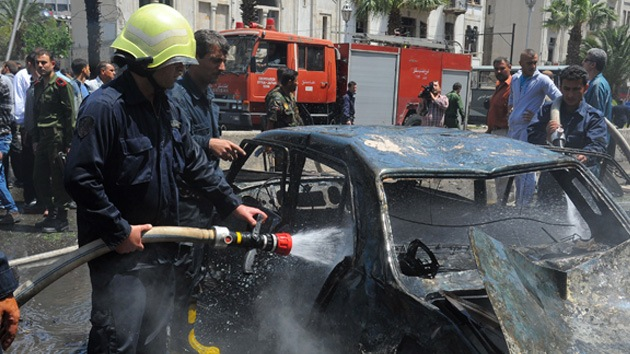 Varios muertos en Damasco en un ataque terrorista cerca de un centro de investigación