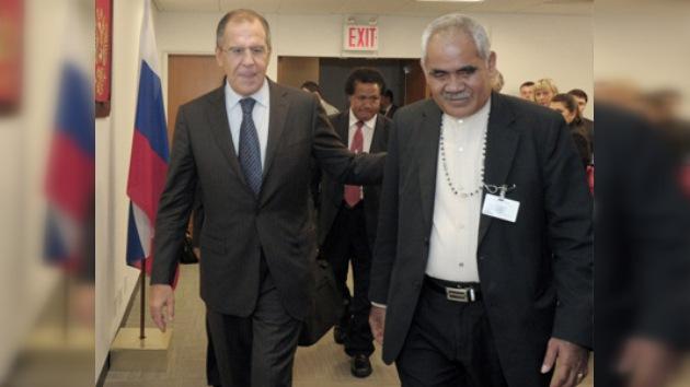 Rusia y Tuvalu acuerdan establecer relaciones diplomáticas