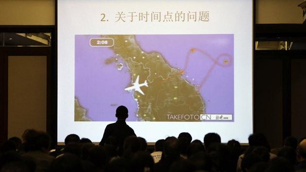 China supuestamente halla los restos del vuelo MH370