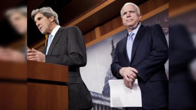 El Senado da un año a Obama para hacer la guerra en Libia