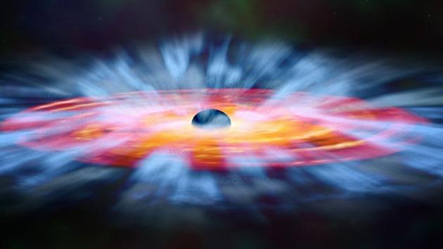 La NASA presenta una llamativa ilustración artística de los agujeros negros
