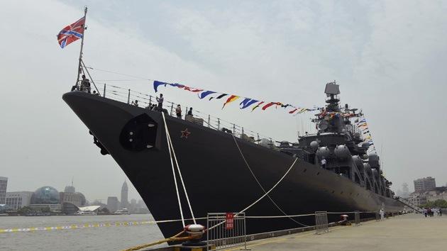 Fotos: Ejercicios navales ruso-chinos de escala sin precedentes