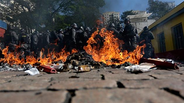 El Mundial se estrena con balas de goma y gases lacrimógenos en São Paulo