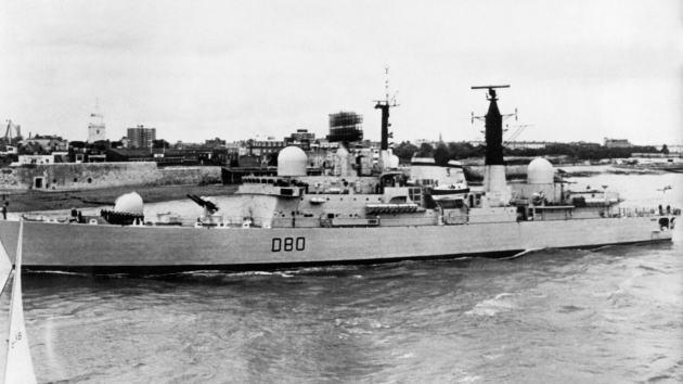Reino Unido desarrolló un arma láser naval durante la guerra de las Malvinas