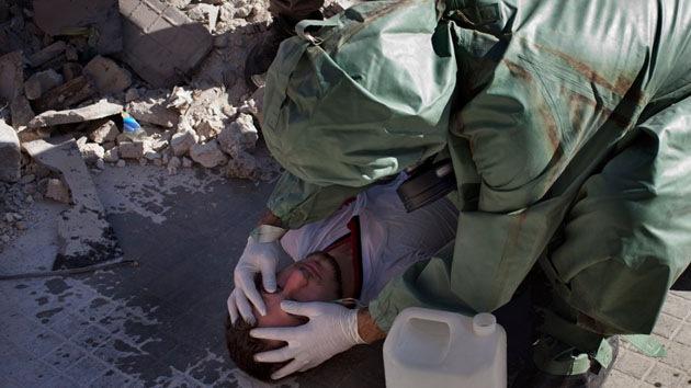 Los expertos de la OPAQ inician la destrucción del arsenal químico de Siria