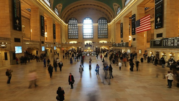 Amenaza de bomba en la Estación Central de trenes de Nueva York