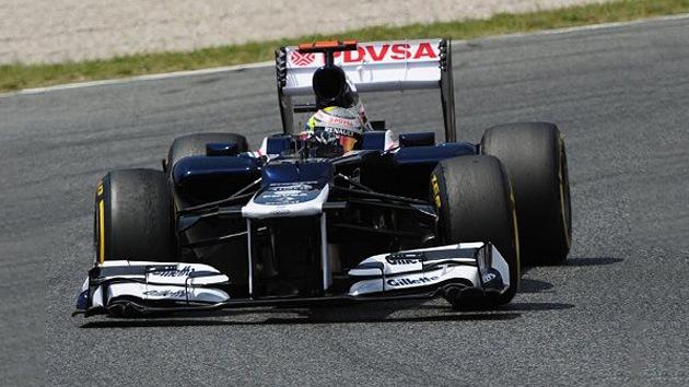 El venezolano Maldonado gana el GP de España y hace historia en la F1