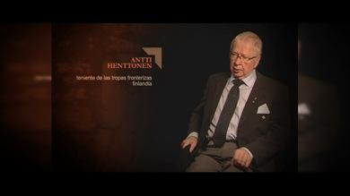 """""""TESTIGOS DE LA GUERRA"""". Antti Henttonen : Teniente de las tropas fronterizas. Finlandia"""