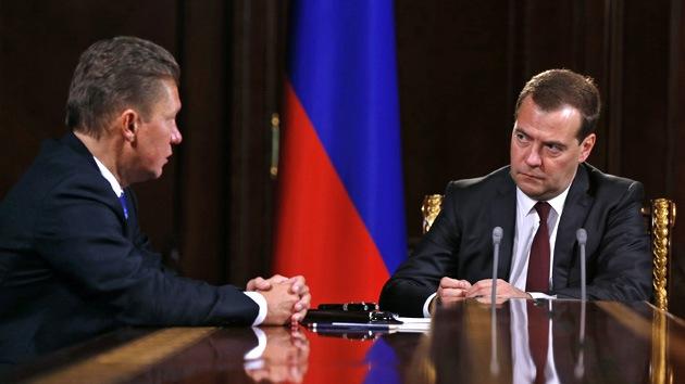 Gazprom: Ucrania amenaza con tomar gratis el gas ruso