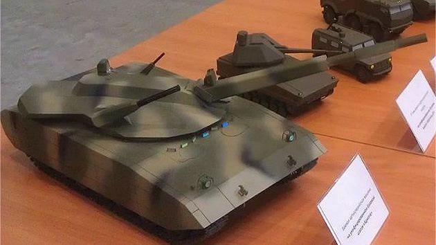 Rusia desarrolla armas robóticas para futuros carros de combate
