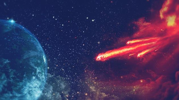 Meteoritos de Marte contienen 'ladrillos' para construir vida