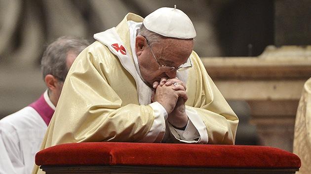 """El papa Francisco también se confiesa porque dice ser """"un pecador"""" como todos los demás"""