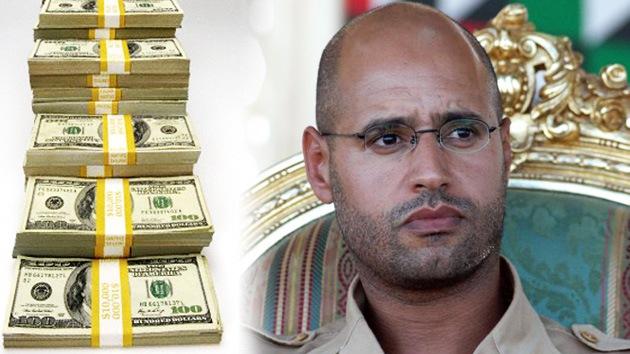Ex rebeldes libios: No entregaremos a Saif al Islam hasta recibir millón y medio de dólares