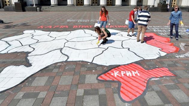 """Un analista predijo en 2009 la """"desintegración"""" de Ucrania"""