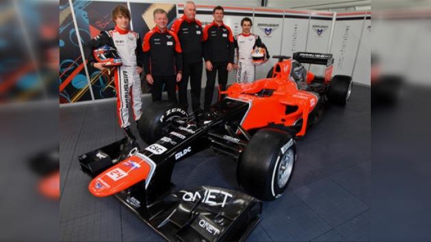 Marussia presenta su bólido para la temporada 2012 de la Fórmula 1