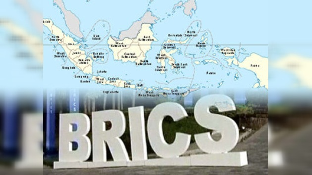 Indonesia pretende formar parte del grupo BRICS
