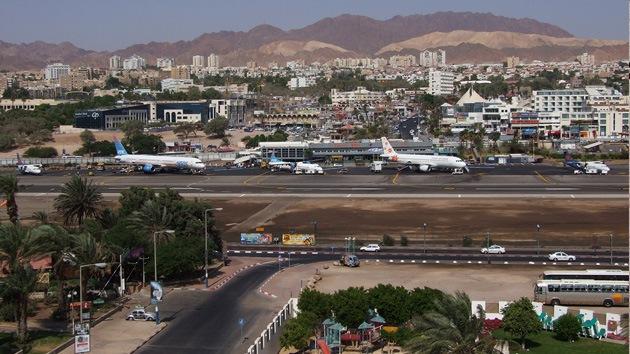"""Cierran el aeropuerto israelí de Eilat """"por motivos de seguridad"""""""