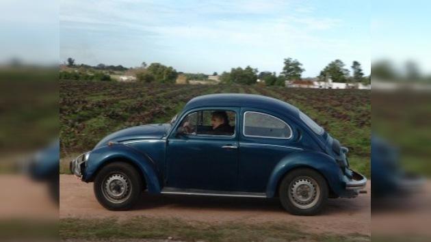 Un Wolkswagen del año 87 es el único patrimonio del presidente de Uruguay