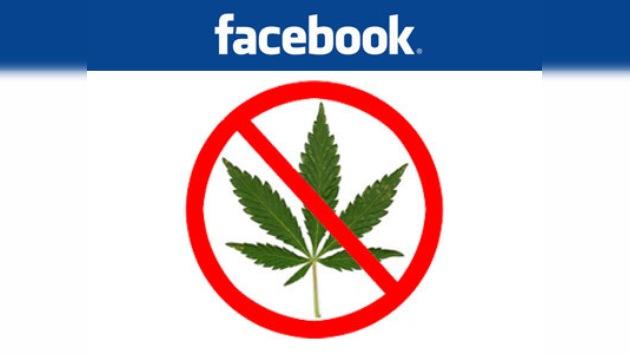 Facebook contra los anuncios de cannabis