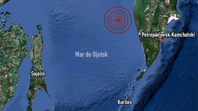Suspenden la alerta de tsunami en el Oriente Lejano ruso tras el sismo de 8,2
