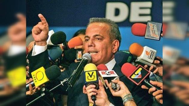 Venezuela pide a EE. UU. que capture y entregue a Manuel Rosales