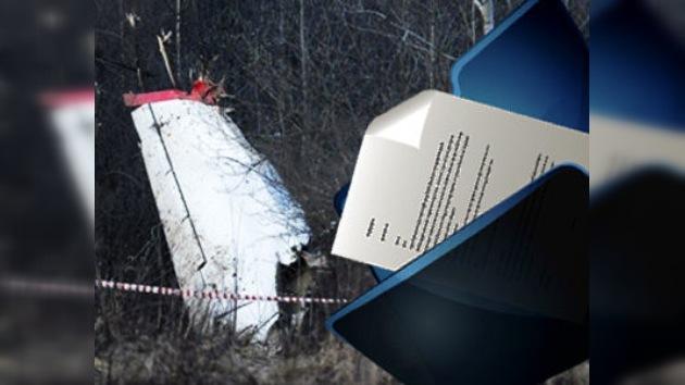 Rusia entrega a Polonia más documentos sobre el accidente aéreo de Smolensk