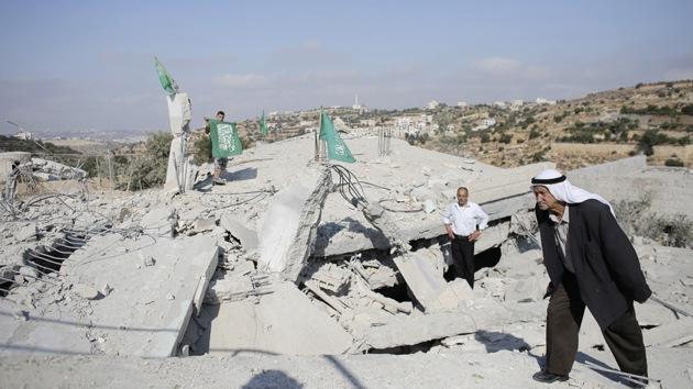 Israel demuele viviendas de palestinos acusados de asesinar a adolescentes israelíes