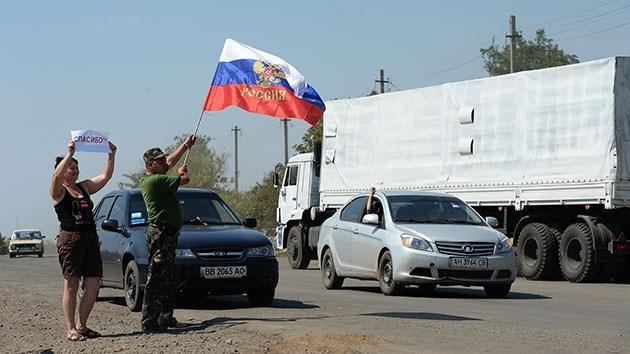 """Rusia: """"Washington quiere que nuestra misión humanitaria en Ucrania fracase"""""""