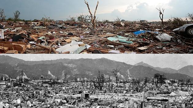 El tornado en Oklahoma, como 600 bombas de Hiroshima a 320 kilómetros por hora