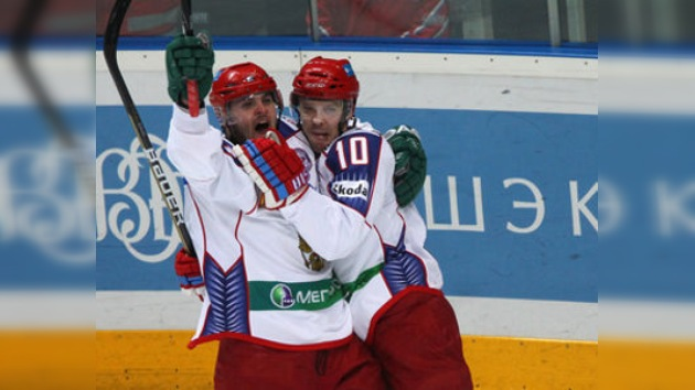 La selección rusa triunfó en la Copa de Cadena Uno con las tres victorias