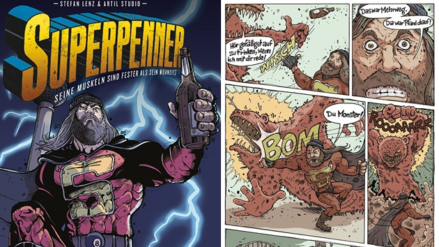 'Supervagabundo' al rescate: un héroe de cómic ayuda a personas sin hogar a ganarse el pan