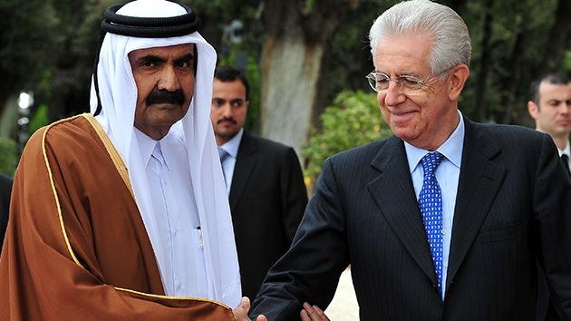 Qatar apoyará la economía italiana con mil millones de euros