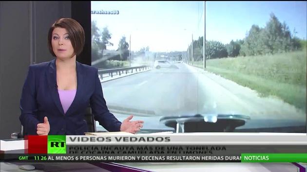 Los videoregistradores invaden las carreteras de Rusia