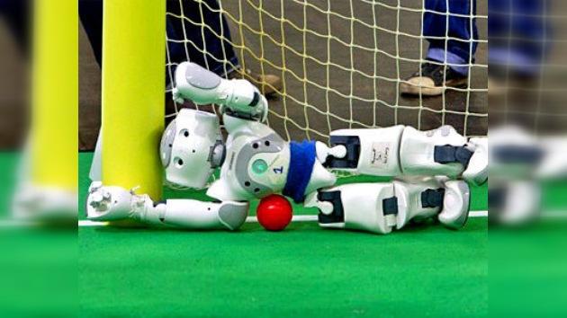 Robots futbolistas: preparándose para vencer al hombre en 2050