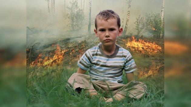 Evacuaron a los niños de los campos debido a los incendios forestales
