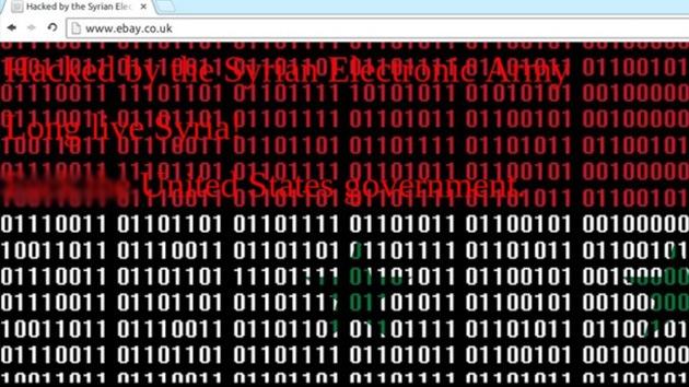 El Ejército Electrónico Sirio 'hackea' eBay y Pay Pall por no proveer servicios en Siria