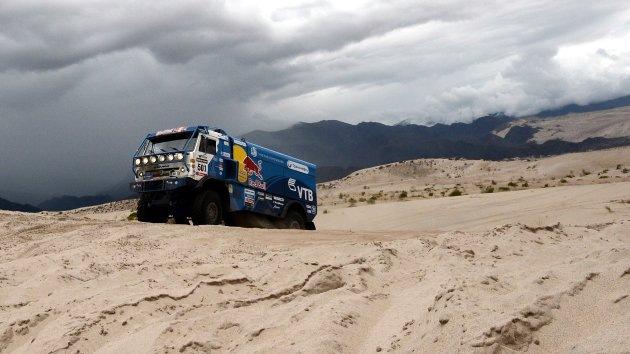 Dakar 2013: Podio total para Kamaz Master ruso en la categoría de camiones